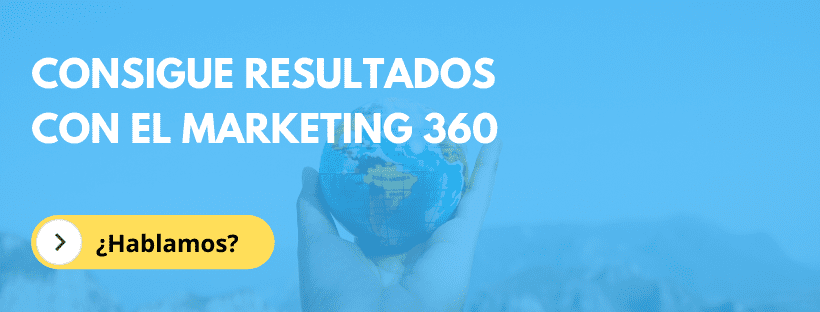 Agencia de marketing 360 para generación de clientes potenciales