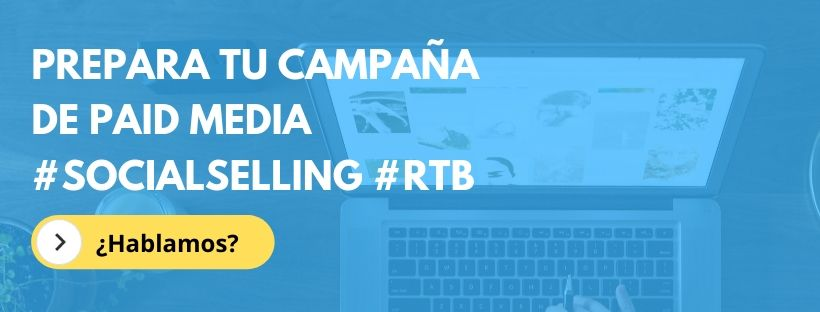 Campañas de social ads, google ads, rtb y paid media en alicante